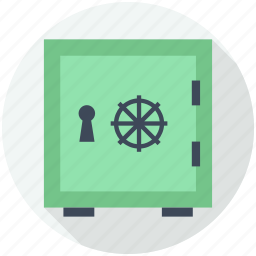 closed, finances, safe box, safety, security, square, tool icon
