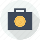bag, bags, briefcase, briefcases, business, finance and business, handbag, tool, tools icon