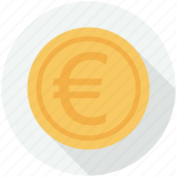 business, currency, europe, finance and business, money, symbol icon