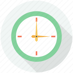 circle, circular, clock, clocks, finance and business, hour, time, tool, tools, tools and utensils icon