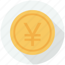 coins, commerce, currency, finances, money, stack, stacked icon
