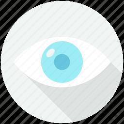 business, cash, currency, dollar, eye, finances icon