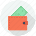 bag, commerce, filled, finances, money, tool, wallet icon