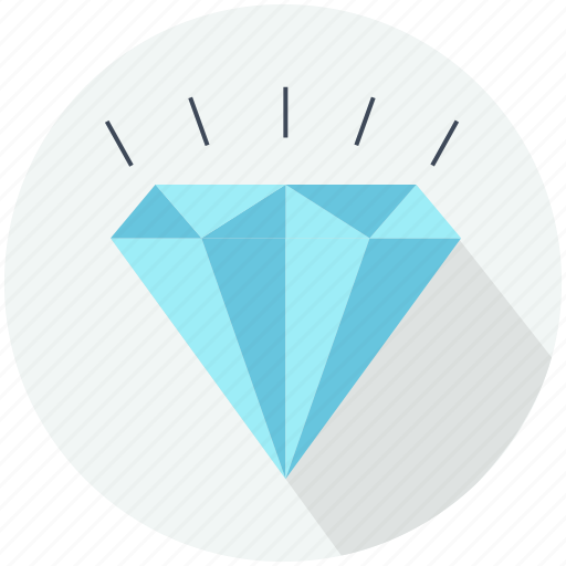 crystal, diamond jewel, diamonds, finance and business, jewelry, precious, shapes icon