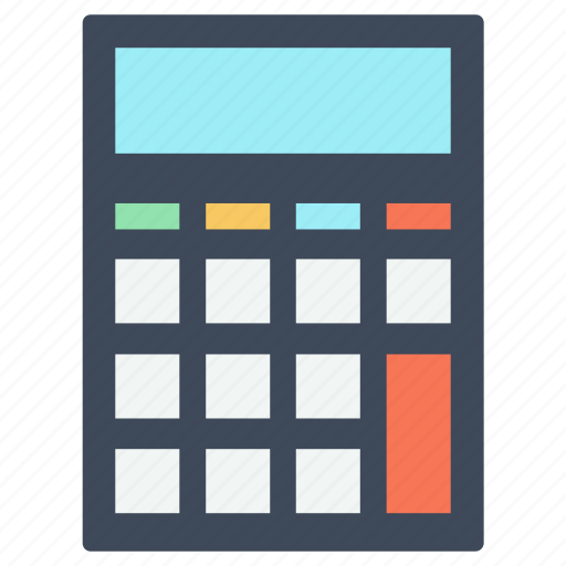 finances, mathematics, maths, operations, technology icon