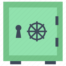 closed, finances, safe box, safety, security, square, tool, tools and utensils icon