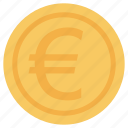 business, currency, europe, finance and business, money icon