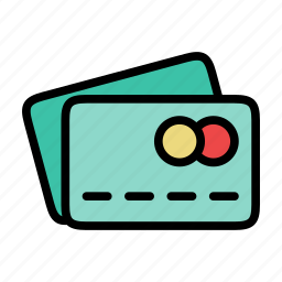 business, credit, credit cards, payment icon