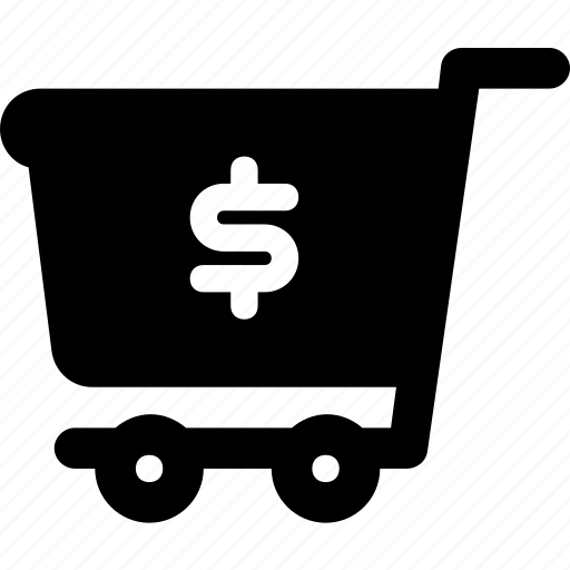 ecommerce, finance, purchased item, shopping, shopping cart icon
