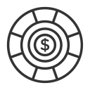 dollar, finance, money icon