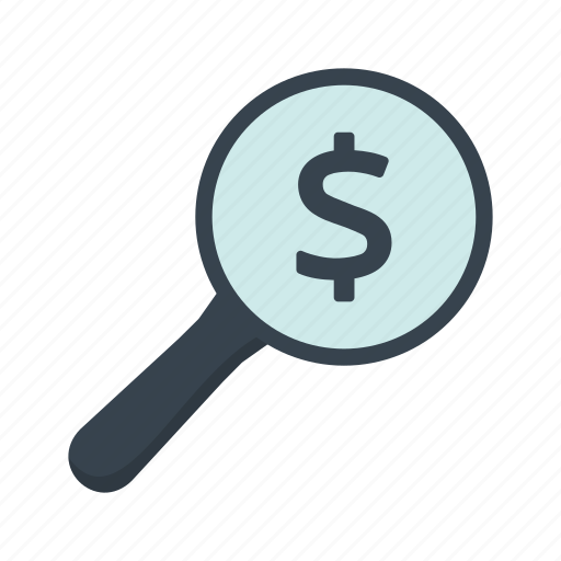 business, calculation, dollar, financial, find, investment, seo icon