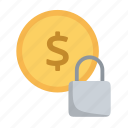 business, finance, lock, money, payment, security, ssl icon