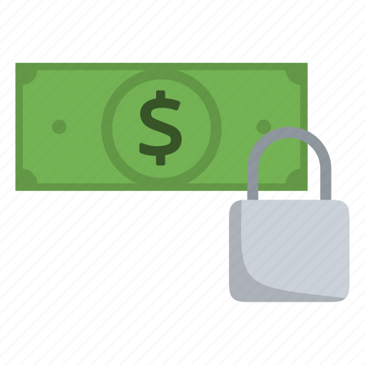 dollar, dollar flow, lock, money, security, ssl, transaction icon