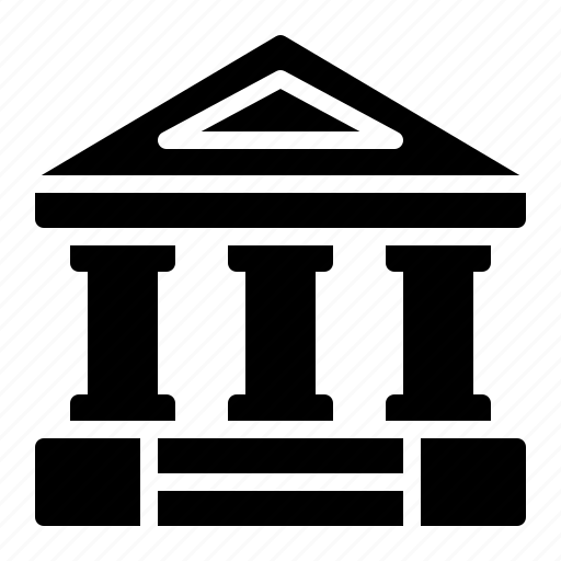 bank, banking, building, finance, institution, roman, watchkit icon