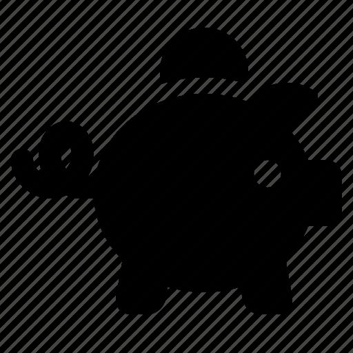 finance, finances, guardar, piggy bank, piggybank, save, savings, watchkit icon