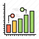 analysis, business, chart, finance, growth, report, statistics icon