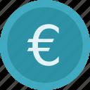 money, euro coin, euro currency, euro