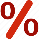 business, finance, pay, payment, percent, percentage, shop icon