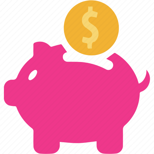 business, currency, finance, money, piggy, piggy bank, saving icon