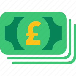 busines, cash, currency, finance, pay, pound, shop icon