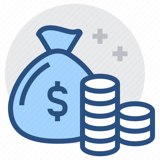 banking, cash, coin, finance, fund, money, payment icon