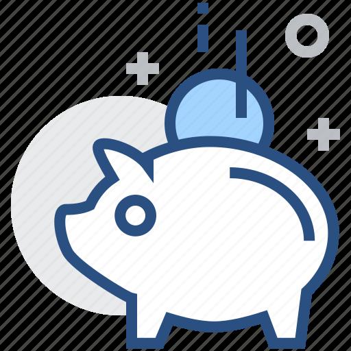 Bank, finance, money, piggy, banking, saving, financial icon - Download on Iconfinder