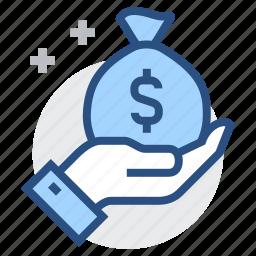banking, business, dollar, finance, financial, money, profit icon