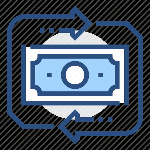 banking, business, cash, dollar, finance, money, revenue icon