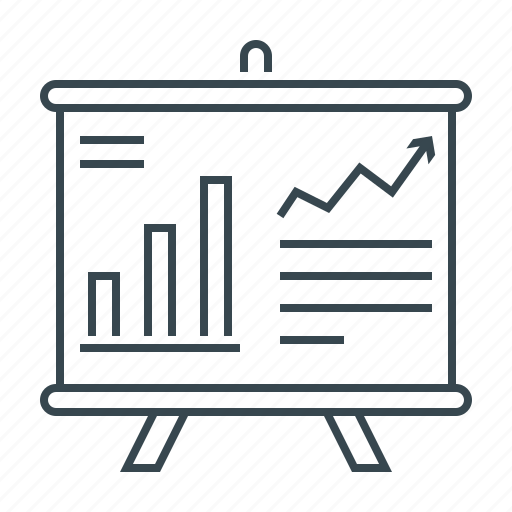 analysis, analytics, chart, financial, graph, report icon