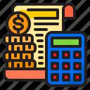 money, finance, accounting, file, calculator