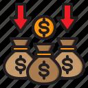 money, finance, bag, cash, business