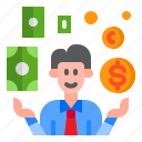 businessman, money, invesment, finance, currency