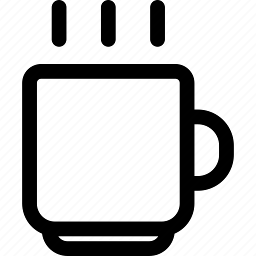 business, coffe, finance, free, free time, outline icon