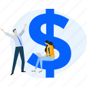 banking, business, cash, e-commerce, earning, finance, money icon