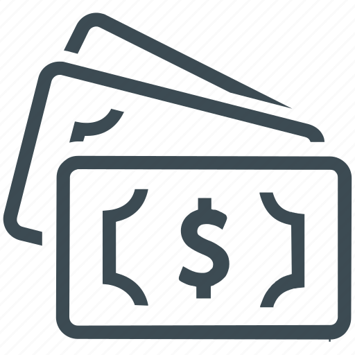 dollar, money, revenue icon