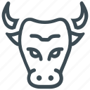 bull market, stock market icon