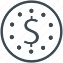 coin, currency, dollar icon
