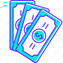 cash, dollar, exchange, money, savings icon