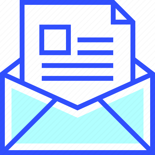 accounting, business, email, finance, office, startup icon