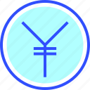 accounting, business, finance, office, startup, yen icon