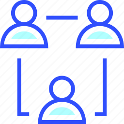 accounting, business, finance, office, startup, teamwork icon