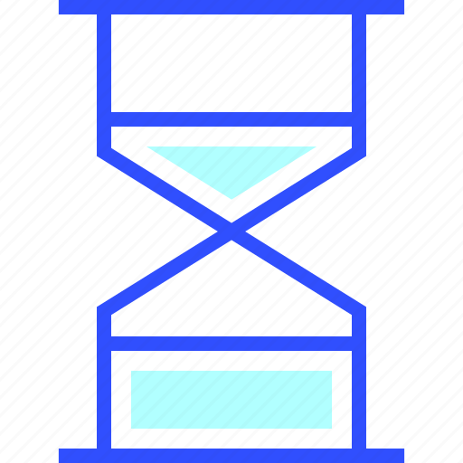 accounting, business, finance, hourglass, office, startup icon
