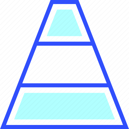 accounting, business, finance, office, pyramid, startup icon