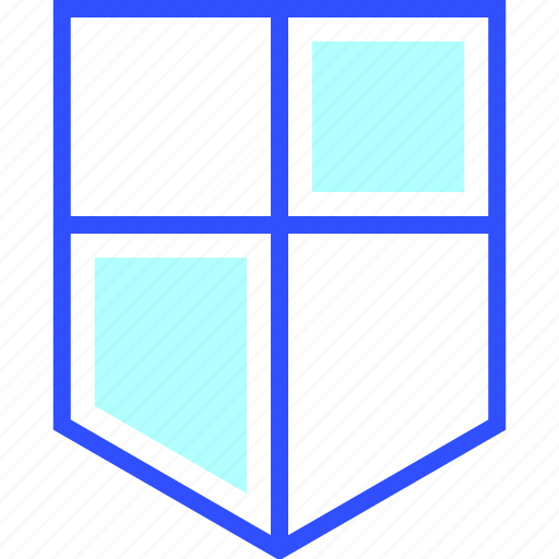accounting, business, finance, office, shield, startup icon