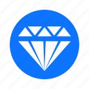 business, circle, diamond, economy, finance, payment icon