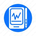 and, business, circle, economy, finance, payment, tablet icon