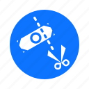 business, circle, economy, finance, payment, tax icon