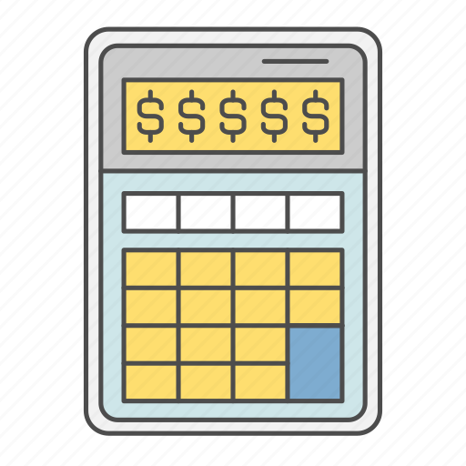 Business, calculator, cash, finance, money icon - Download on Iconfinder