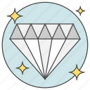 business, cash, diamond, finance, money icon
