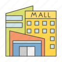 business, cash, finance, mall, money icon